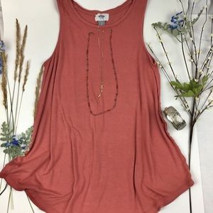 Old Navy Clay Toned Tank size Small